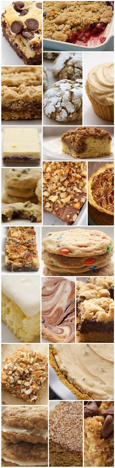 Best of Bake or Break 2012- (click on image within post for the recipes)  Lots of yummy cookies and bars