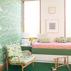 Dual Purpose Hangout - 40 Guest Bedroom Ideas - Coastal Living