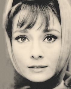 Audrey Hepburn,1960. Probably the most unique image I've ever seen of her essence. Arresting, clear beauty.