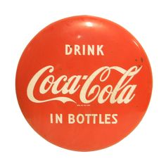 1stdibs | 1950's Coca Cola porcelain sign