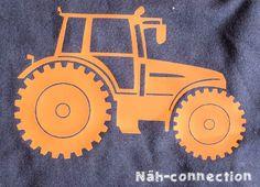 Näh-Connection: Tractor plotter freebie/printable/freezer stencil / Traktor Freebie für Plotter & Co.
