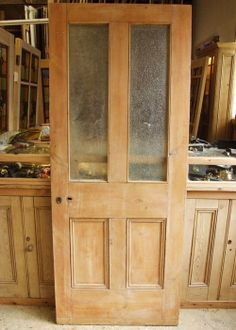 Reclaimed Pine Victorian Internal Door