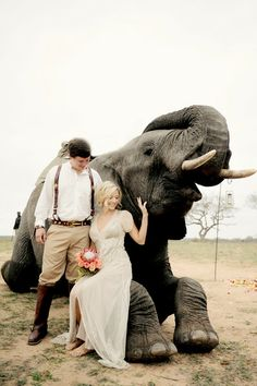 How incredible is this picture? #SafariWedding I Style #Aiguille by @BHLDN Weddings I see more @WeddingWire