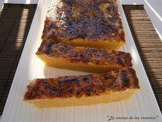 El turrón de yema tostada es el preferido de mi marido, y me apetecía hacerlo casero para comprobar la diferencia. Y vaya si hay diferencia...