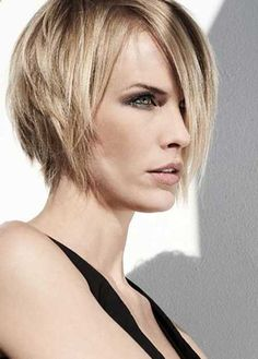 Layered Short Trendy Bob