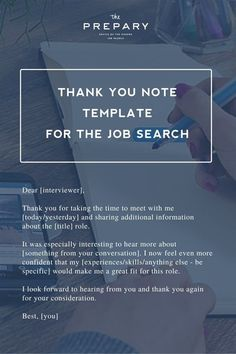 What to write in a thank you note after an interview – Education is important Thank You Note Template, Thank You Notes, Job Interview Attire, Attention Disorder, Job Advertisement, I Am Grateful, Business Management, Job Search, Over The Years
