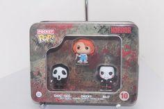 FUNKO Pocket Pop Mini Tin #10 GHOST FACE, CHUCKY & BILLY Scream Child's Play Saw