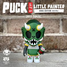 Surprise 3 HOUR pre-order window for the BOBA edition Puck - Little Painter by… #Colorways #Dokebi #PreOrder #SpankyStokes #StrangecatToys