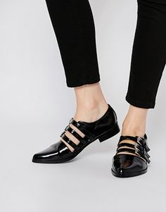 ASOS MAGIC TRICK Flat Shoes