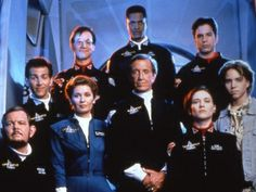 seaQuest DSV – 1st season cast photo, '93-'94.