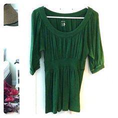 INC Kelly Green Shirt Excellent shirt for work or casual day. Excellent condition. INC International Concepts Tops Blouses