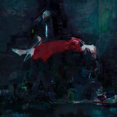 """the Hypnotist"" oil on canvas, 80x80 cm"