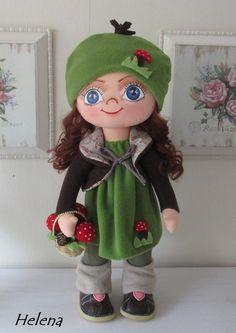 Myslivecká panenka, 60 cm