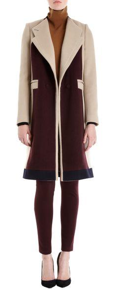 O'2nd Colorblock Slim Fit Coat