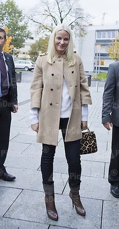 PRINCESS METTE MARİT ATTENDS GLOBAL DIGNITY DAY AT FYRSTIKKALLEEN SCHOOL