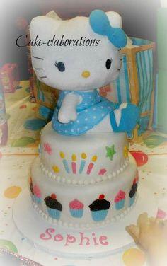 Hello Kitty birthday cake - Sophie