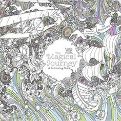 The Magical Journey A Colouring Book Books Amazonco