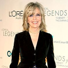 Diane Keaton ~ I LOVE her!!! She's one of my faves!! You go girl! :)