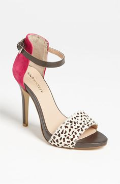 Sole Society Sheila Sandal available at Nordstrom...Also red with leopard and blue with zebra   CB
