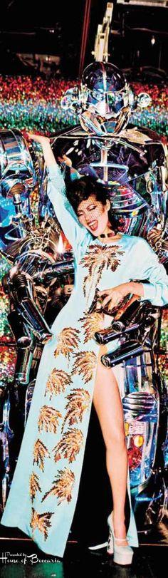 ~Vogue Japan July 2014: Tokyo Neon Girls by Ellen Von Unwerth | House of Beccaria#