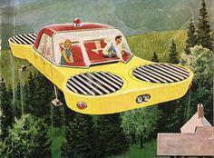 Popular Mechanics 1957 - Flying car