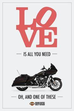 Harley Davidson = love