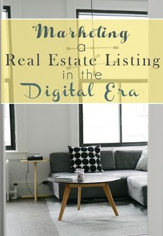 Marketing a Real Estate Listing in the Digital Era - L Bee and the Money Tree