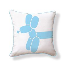 Balloon dog pillow so cute for kids room
