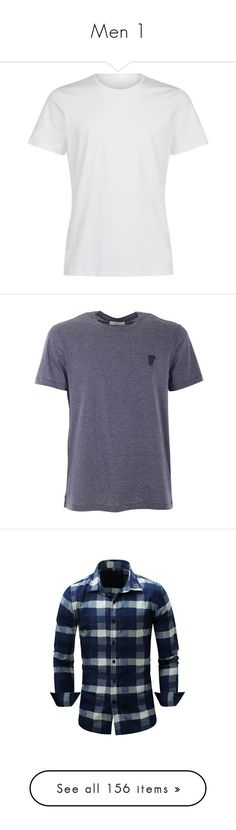 """""""Men 1"""" by mel-grey-lannister ❤ liked on Polyvore featuring men's fashion, men's clothing, men's shirts, men's t-shirts, shirts, men, mens clothes, white, mens short sleeve t shirts and mens t shirts"""