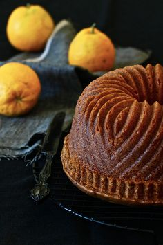 Seville orange bundt cake