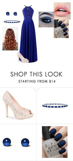 """""""Juilianna graduation"""" by flamingfirewolf ❤ liked on Polyvore featuring Lauren Lorraine and OPI"""