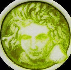 Matcha Green Tea Latte Art  #Matcha  #RedLeafTea