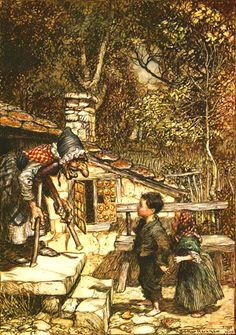 Arthur Rackham:  Hansel and Gretel