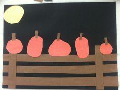 3 Teacher Chicks: Five Little Pumpkins Craft and Center Ideas