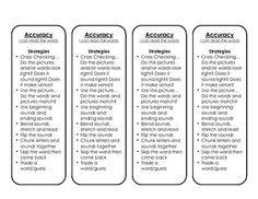 Cafe Reading Strategy Tracking Bookmarks - Emily O'Halloran - TeachersPayTeachers.com