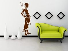 http://broomsticker.co.uk/African-Warrior-Exotic-Wall-Sticker