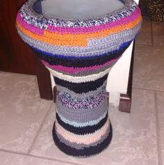 Dança do Ventre Vinhedo - Atelier Beth Fallahi Sister Studio®: Derbake...com nossa capinha de croche... e lembran...