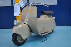 PIAGGIO MUSEUM tells the #history of #products that represent excellence in #creativity and technological competence, while exalting the entrepreneurial capabilities of the people who designed and produced them. MP5 #prototype #scooter named #Paperino (1943) - #vintage #history in #Piaggio #Museum Pontedera  #Tuscany #Italy Discover more! http://www.museopiaggio.it/en/index_en.html