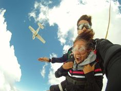 Book your skydiving lessons today with Skydive Parys in the Free State, South Africa - Dirty Boots Skydiving Pictures, Nepal Mount Everest, Stuff To Do, Things To Do, Rock Climbing Gear, Free State, Hang Gliding, Bungee Jumping, Adventure Activities