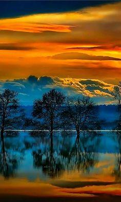 Beautiful Landscape of Nature Beautiful Nature Pictures, Beautiful Sunset, Nature Photos, Amazing Nature, Beautiful Landscapes, Landscape Photos, Landscape Photography, Nature Photography, Nature Wallpaper