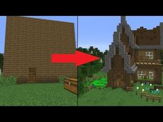 5 Easy Steps To Improve Your Minecraft House Interior Wood Doors What You Must Look For While Buying Interior Wood Doors Easy Minecraft Houses, Minecraft Videos, Minecraft Projects, Minecraft Designs, Minecraft Tutorial, House Blueprints, Home Look, House In The Woods, Home Improvement Projects