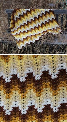 Grandma Spiked My Ripple, free pattern by Darlisa Riggs. Written pattern with lots of detail, plus a pattern diagram that shows this isn't *nearly* as hard as it looks.