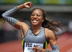 Olympic runner Sanya Richards-Ross