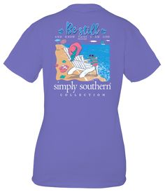 Simply Southern Classic Short Sleeve T-shirt from Simply Southern - Be Still - And know that I am God Simply Southern T Shirts, Southern Outfits, Preppy Southern, Southern Prep, Tees For Women, Cute Shirts, Shirt Shop, Mens Tops, Clothes