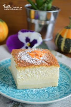 Hungarian Desserts, Hungarian Recipes, Brunch Recipes, Sweet Recipes, Make Ahead Brunch, Eat Pray Love, Cheesecake, Food And Drink, Sweets