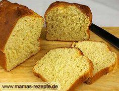 Rezept Süßes Kastenbrot mit Backpulver auf Mamas Rezepte Homepage