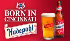 Hudepohl beer! A great small brewery from Cincinnati