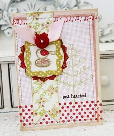 There's something I just love about pink & red! Melissa Phillips for Papertrey Ink.