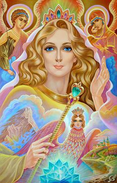 Fortuna Goddess of Fertility by Vladimir Suvorov