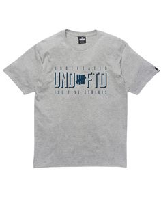 Undefeated - The Five Strikes T-Shirt (Grey Heather)